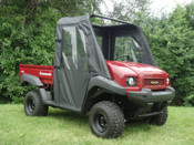 3 Star Kawasaki Mule 600/610 Soft Door/Rear Window Combo