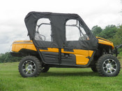 3 Star Kawasaki Teryx 4 Full Cab Enclosure for Hard Windshield