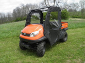 3 Star Kubota RTV 400/500 Soft Door/Rear Window Combo