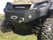 EMP '16+ Honda Pioneer 1000/1000-5 Front Bumper w/ LED Lights and Winch Mount