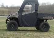 3 Star Polaris Ranger Mid-Size Soft Door/Rear Window Combo