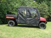 3 Star Polaris Ranger Crew 700 Soft Door/Rear Window Combo