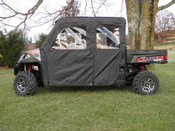 3 Star Polaris Ranger Crew 570 Soft Door/Rear Window Combo