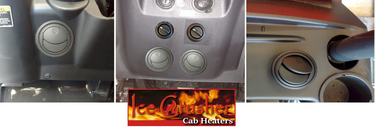 Ice Crusher Compact Cab Heater for Kubota RTV-X900 on kubota tractor wiring diagrams, kubota cylinder head, kubota alternator, kubota voltage regulator, kubota fuel pump, kubota radio harness, kubota accessories,