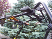 Big Sky Racks Gun Rack w/ Roll Cage Clamps