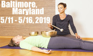 VSA Singing Bowl Vibrational Sound Therapy Certification Course Baltimore MD May 11-16, 2019