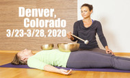 VSA Singing Bowl Vibrational Sound Therapy Certification Course Denver, Co March 23-28, 2020