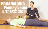 VSA Singing Bowl Vibrational Sound Therapy Certification Course Philadelphia, PA June 17-22, 2020