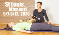 VSA Singing Bowl Vibrational Sound Therapy Certification Course St Louis MO September 7-12, 2020