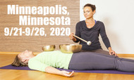 VSA Singing Bowl Vibrational Sound Therapy Certification Course Minneapolis, MN September 21-26, 2020