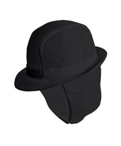 Alexandra trilby hat with snood