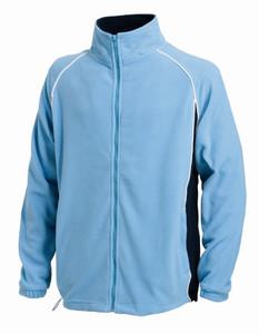 Finden & Hales Contrast Micro Fleece Jacket