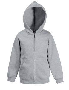 Fruit of the Loom Kids Zip Hooded Sweatshirt