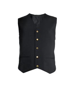 Alexandra Workwear Mens Gilt Button Waistcoat