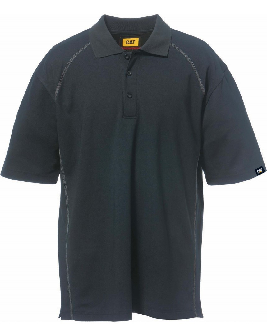 Caterpillar Mens Advanced Performance Work Polo Shirt Abm Workwear