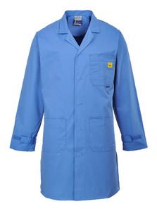 Portwest Workwear Mens Anti Static Coat