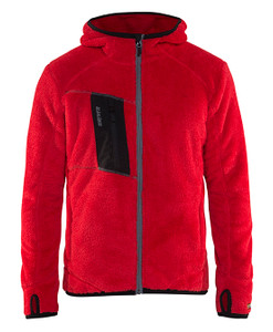 Blakläder  Furry Pile Jacket Red