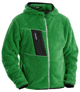 Blakläder  Furry Pile Jacket Green