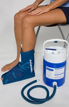 Ankle Cryo Cuff w/ Gravity Cooler by Aircast