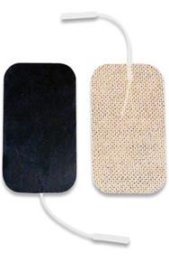 """Dura-stick Supreme 1.5""""x2.3""""(4cm x 6cm) Rectangle Electrodes-40/cas"""