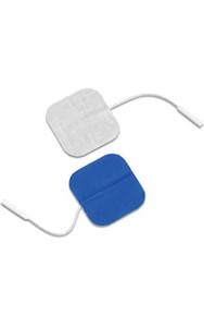 """Dura-stick Supreme 2""""x2"""" (5cm x 5cm) Square Electrodes - Blue Gel-40/case (42057)"""