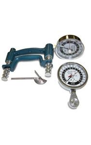 3 -Piece Hand Evaluation Set - Dial Gauge Dynamoter - 300 lbs. (136 kg) (43106)