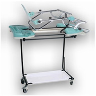 Roll around knee cart