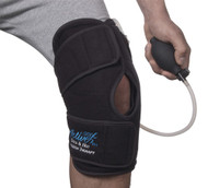 ThermoActive Hot or Cold Therapy Knee Support by Polygel