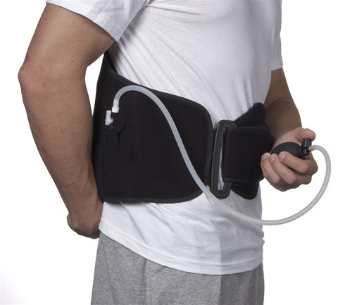 ThermoActive Hot or Cold Therapy Back Support by Polygel