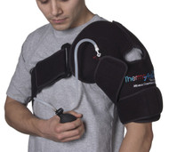 ThermoActive Hot or Cold Therapy Shoulder Support by Polygel