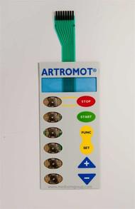 Artromot K3/K4 Membrane Switch