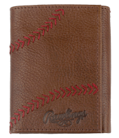 Two Strikes Trifold (Light Brown)