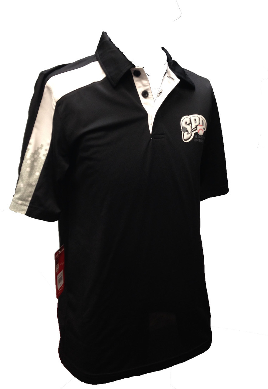 SPO Black Golf Shirt