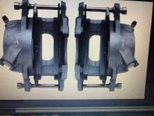 Brake calipers, loaded for caliper nmounts CB7191