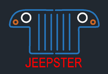 Jeepster Commando Neo Sign
