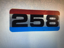 Decal 258