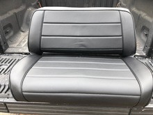 rear seat cover to match bestop rugged ridge new seat factory