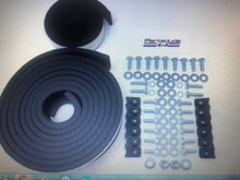 Hardtop seal and deluxe hardware kit