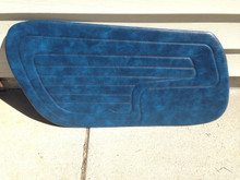 Door panels Blue