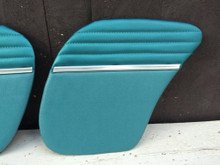 Turquoise rear quarter panel Deluxe panel 66 - 71