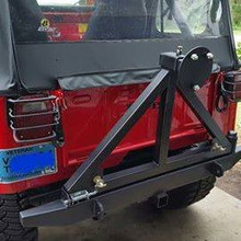 new CJ swing out tire carriers