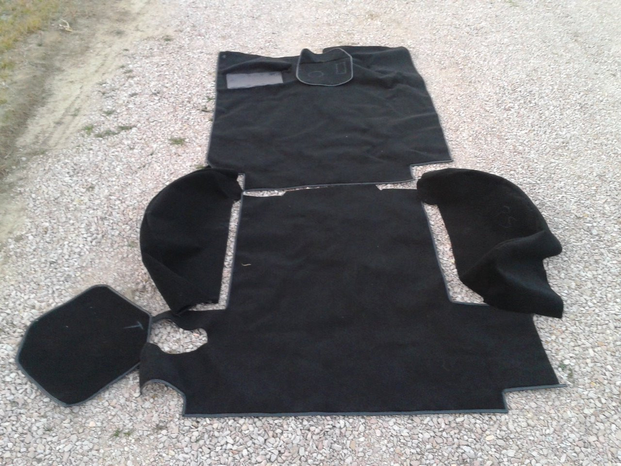 1967 1971 Jeepster Black Or Any Color Carpet Kit Loop