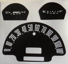 Decal sticker Speedo Cluster Overlay
