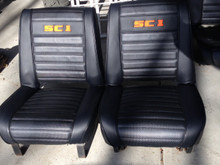 Embroidered seats set SC-1 or Commando
