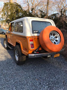 Spare Tire with hole cover
