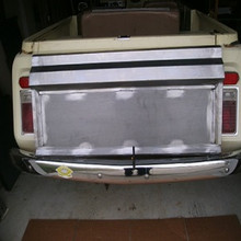 jeepster commando tail gate all years steel
