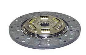 """Pressure plate.  Fits •Jeep CJ-5 (1966-1973) w/ V6 225 engine; 10-1/2"""". •Jeep Jeepster (1966-1971) w/ V6 225 engine; 10-1/2"""".  Number 2B in the diagram"""