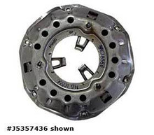 """Product Description   Pressure plate.  Fits •Jeep CJ-5 (1966-1973) w/ V6 225 engine; 10-1/2"""". •Jeep Jeepster (1966-1971) w/ V6 225 engine; 10-1/2"""".  Number 2B in the diagram     Warranty Information  null"""
