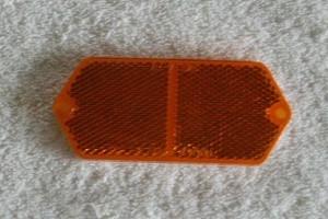 hood reflector amber