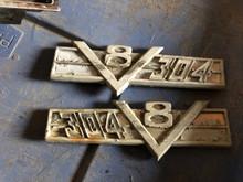 304V8 emblem